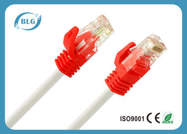 OFC Cat5e UTP Patch Cord 4 Twisted أزواج / BC CCA Red Cat5e Patch كابل